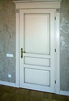 Изготовление индивидуальных межкомнатных дверей из массива дерева, фото 1