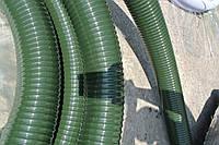 ПВХ Рукав напоно всасывающий, морозостойкий для асенизации и канализации 102мм (Болгария)
