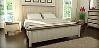 """Ліжко дерев'яне Каліфорнія MebiGrand / Кровать деревянная """"Калифорния"""" MebiGrand"""