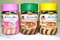 Шоколадно-ореховая крем-паста Kuger Krem Duo в ассортименте, 400г
