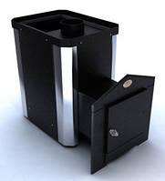 Печь-каменка дровяная для саун «Классик» ПКС-02 Ч (18 м. куб), кожух комбинированный