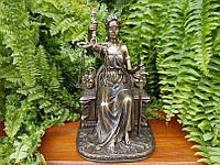 """Подарочная статуэтка Veronese """"Фемида на троне""""(18 см) 75268 A4"""