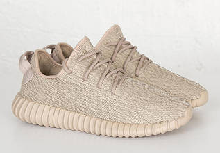 Кроссовки женские Adidas Yeezy Boost 350 Oxford Tan / ADW-973 (Реплика)
