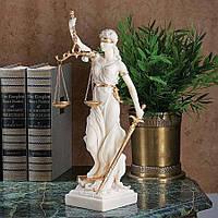 Коллекционная статуэтка Veronese Фемида с мраморным покрытием WU71832AH