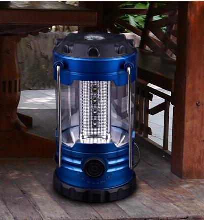 Фонарь лампа в палатку 12 led + компас