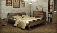"""Ліжко дерев'яне Верона МебіГранд / Кровать деревянная """"Верона"""" MebiGrand, фото 1"""
