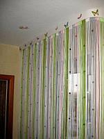 Шторы  нити  радуга со  стеклярусом   №108, фото 1
