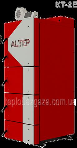 Универсальный твердотопливный котел на длительного горения Альтеп KT-2ЕN/(NM) 27 квт площадь обогрева до 270м2, фото 2