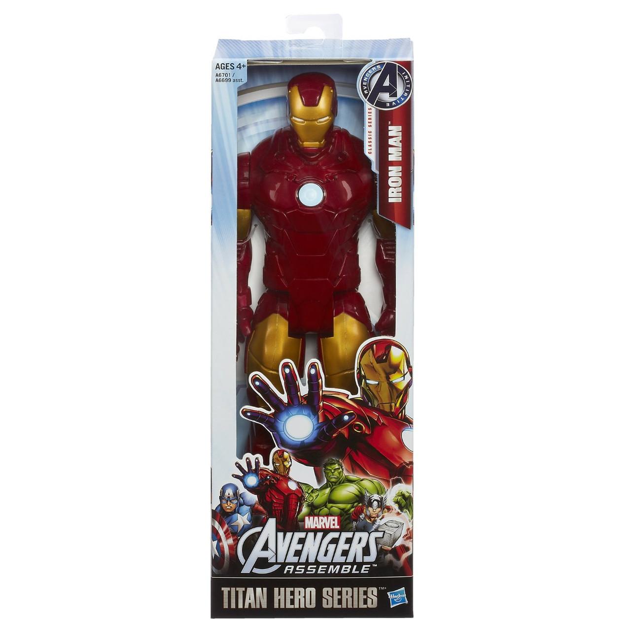 Большая игрушка Железный Человек (Мстители) 30СМ, серия Титаны - Iron Man, Avengers, Titans, Hasbro