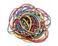 Гумки для грошей 5501 банківські 100г кольорові діаметр 55мм
