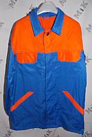 Костюм рабочий ИТР, ткань диагональ,(куртка+полукомбинезон)