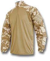 Тактическая рубашка, Убакс, камуфляж DDPM (ДДПМ, Сахара). НОВЫЙ
