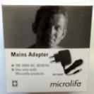 Адаптер мод. AD-1024C для тонометрів Microlife, B. Well АnD, Longevita (6 вольт), фото 2
