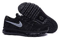 Кроссовки Nike Flyknit Air Max Black, фото 1
