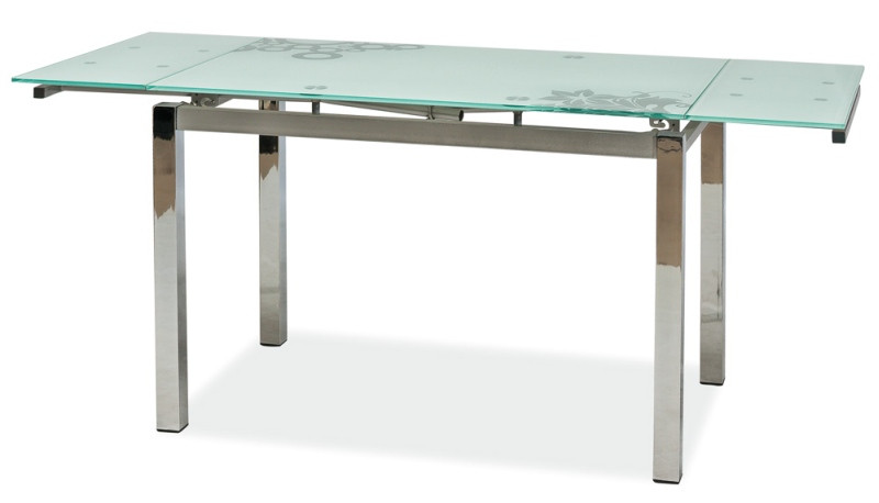 Стол стеклянный раскладной Signal GD-017