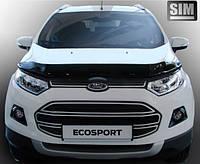 Дефлектор капота (мухобойка) FORD EcoSport 2013-