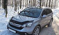 Дефлектор капота (мухобойка) Honda CR-V 2007-2010