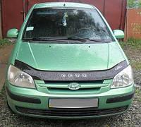 Дефлектор капота (мухобойка) Hyundai Gets 2002- 2005, фото 1
