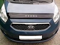 Дефлектор капота (мухобойка) Kia VENGA 2011-, фото 1