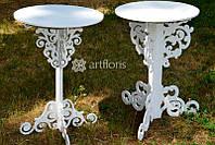 Резной столик для росписи, красивый столик для выездной церемонии напрокат