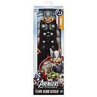 Большая фигурка Тор (Мстители) 30 см, серия Титаны - Thor, Avengers,Titans, Hasbro, фото 1
