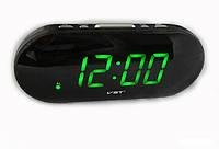 Часы сетевые VST 717-4 салатовые