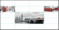 Панно Лондон кафель на стены, плитка 20х50см.