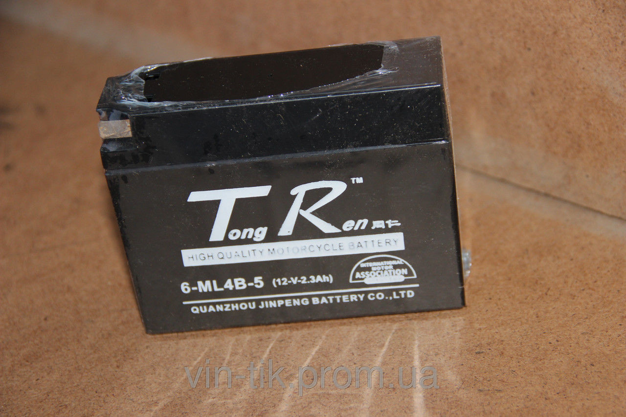 Мото аккумулятор (АКБ) 12В2.3А Lets (таблетка)гелевый