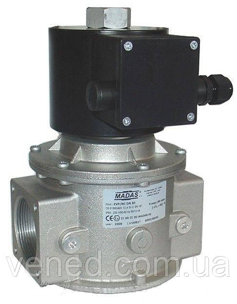 Клапан на газ электромагнитный NO (Italy) Ду15