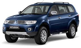 Защита переднего бампера Mitsubishi Pajero Sport (2008-2015)