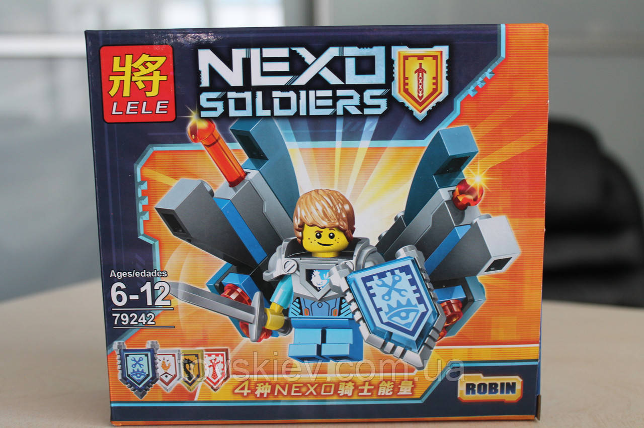 "Конструктор аналог Lego Нексо найтс ""NEXO KNIGHTS"" 79242 Робин"