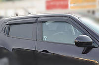 "Дефлекторы окон (ветровики) Jeep Compass (MK) 5d 2006-2010""EuroStandard"", фото 1"