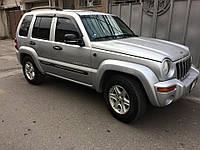 Дефлекторы окон (ветровики) Jeep Liberty 2007/Patriot 2007 , фото 1