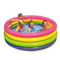 """Детский надувной бассейн Intex 56441 """"Пылающий закат"""""""
