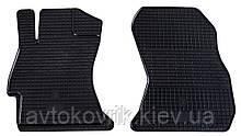 Резиновые передние коврики в салон Subaru Impreza IV (GP, GJ) 2011- (STINGRAY)
