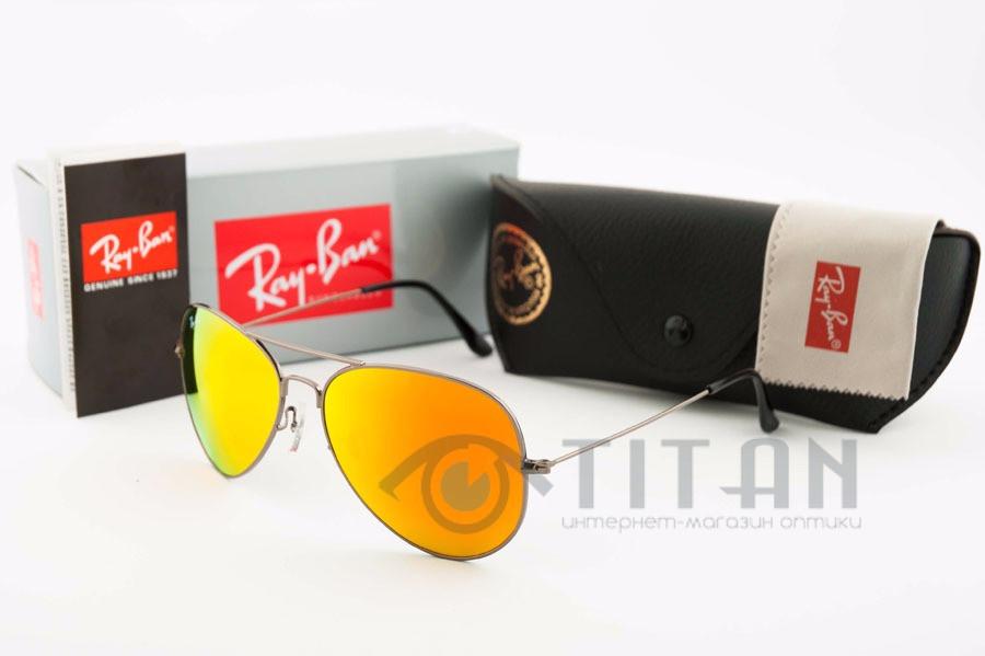 Очки солнцезащитные RB Aviator 3026 Large Metal 004-2 заказать