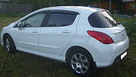 Дефлекторы окон (ветровики) PEUGEOT 308 2007-