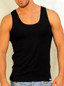 Мужская черная майка модал Doreanse 2011