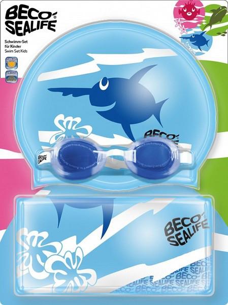 Детский набор для плавания Beco синий 96054 6