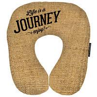Дорожная подушка-подголовник Journey подарки на день рождения