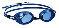 Очки для плавания со сменными перемычками BECO Competition синий/белый 9932 61