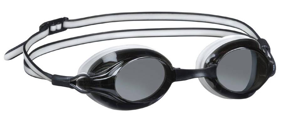 Очки для плавания со сменными перемычками BECO Competition чёрный/белый 9932 01 , фото 2