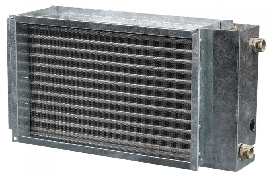 ВЕНТС НКВ 900х500-3 - прямоугольный водяной нагреватель