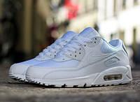 Кроссовки Nike Air Max 90 Essential Triple White (537384-111), фото 1