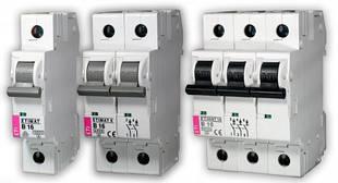Автоматические выключатели ETIMAT 6kA