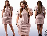 Платья льняные большие размеры