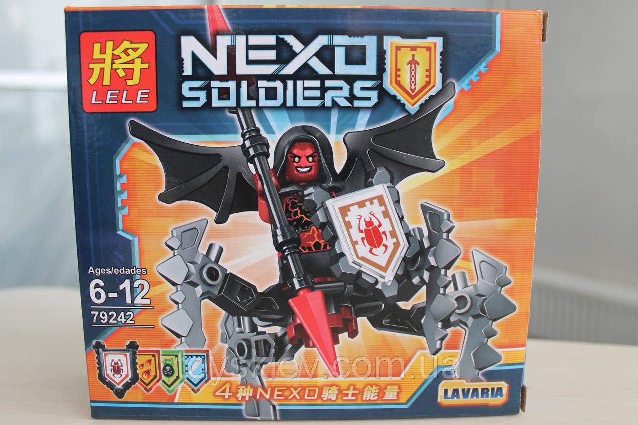 "Конструктор аналог Lego Нексо найтс ""NEXO KNIGHTS"" 79242 Лавария"