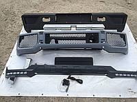 Передний бампер, Докладка переднего бампера, Задний бампер Mercedes G-class W463 G63/G65 AMG, Brabus