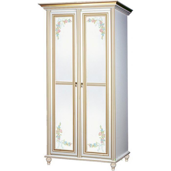 Шкаф 2-х дверный Принцесса (ТМ Скай)