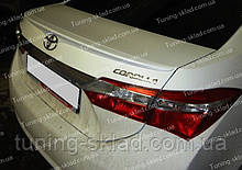 Спойлер Toyota Corolla XI E170 (спойлер на крышку багажника Тойота Королла 11 Е170)